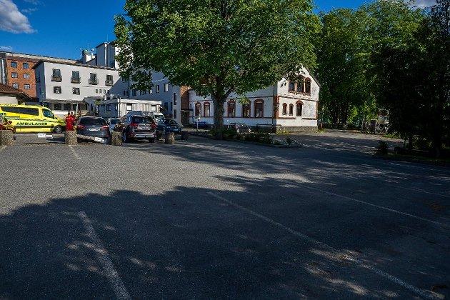 Den nye ambulansestasjonen i Sarpsborg er blant temaene Grete Moræus Stray tar opp i dette innlegget. De flere hundre år gamle blodbøkene der har vært tema for flere politikere. (Foto: Johnny Helgesen)