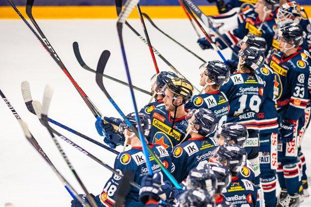 Spartas spiller Emil Lundberg ble matchvinner i kampen mellom Sparta og Grüner.