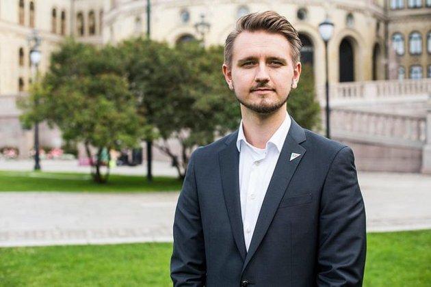 Freddy André Øvstegård, stortingsrepresentant for Østfold SV. (Foto: SV)