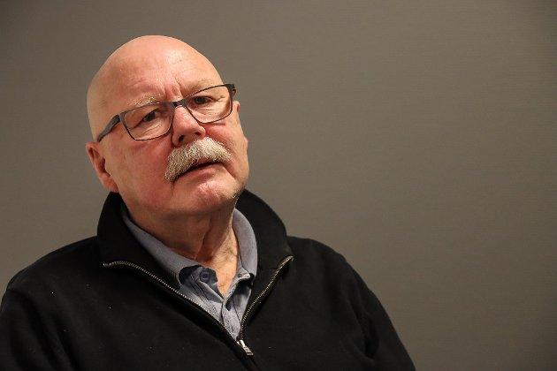 Atle Midtgård, representant for Rødt i utvalg for kultur og oppvekst. (Foto: Eline Rildå Bjørge)