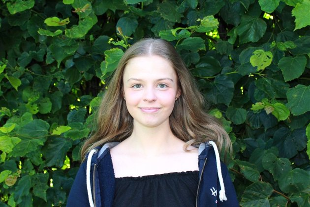 Sandra Lexander, fylkesleder i Østfold Unge Høyre. (Foto: Privat)