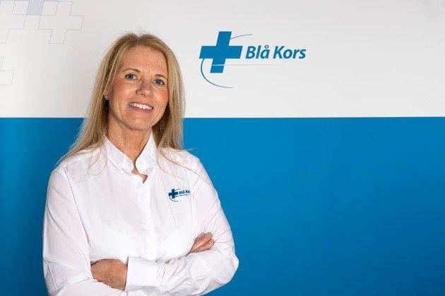 Trine Stensen, generalsekretær i Blå Kors. (Foto: Marcel Lelienhof)