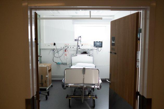 Reidar O. Nordsjø opplevde en ubehagelig natt på Sykehuset Østfold Kalnes.