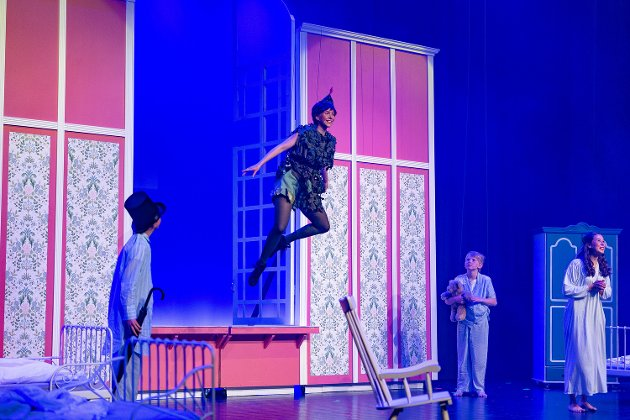 Diorama Musikalteater med premiere av Peter Pan på Sarpsborg Scene.
