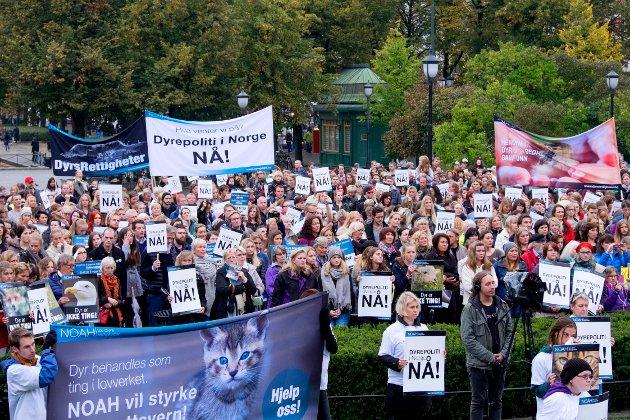 Dyrevernorganisasjonen NOAH har kjempet i årevis for et dyrepoliti..