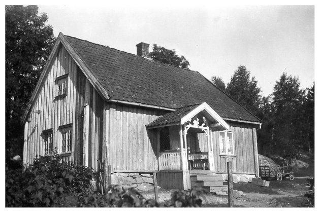 LAFTEHUS: Huset på Villumstad er opprinnelig fra 1836