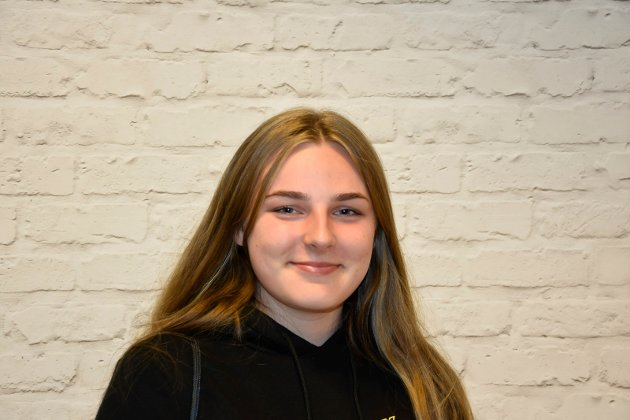 Gabija Steigvilatie (16) Mysen: – Mer politi og folk som passer på.
