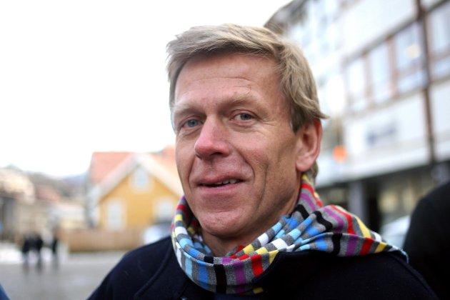 MINNAST: Louis Anda hugsar Arne Johannessen som ein rappkjefta lensmannsbetjent med ei lys framtid i politiet.