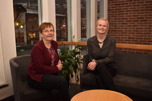 KOMITELEIARAR: Margrete Haug (KrF/ leiar i komité for levekår) og Kristin Rundsveen Bøtun (Sp/ leiar i komitè for samfunnsutvikling), Sogndal Kommune
