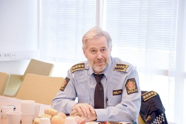 TIDENES BESTE: Arne Johannessen meiner 2020 var det beste året nokon sinne for politiet i Sogn og Fjordane.