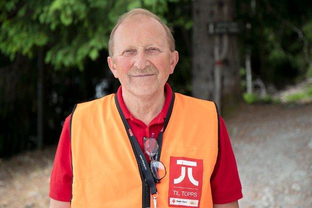 BEKYMRA: Arne Dale representerer distriktsråd omsorg i Sogn og Fjordane Røde Kors.