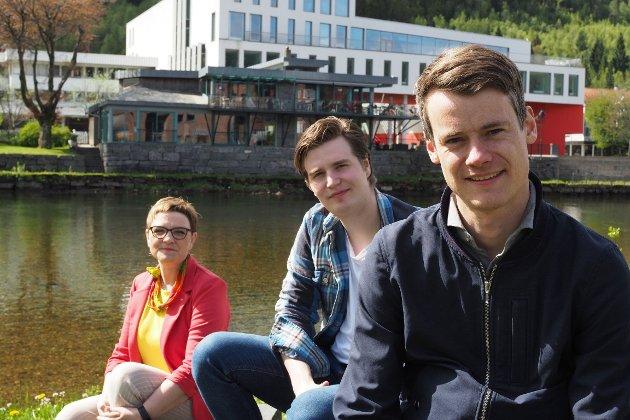 KrF sin tre fremste på stortingsval-lista; Tore Storehaug, Trude Brosvik og William Dalsbø