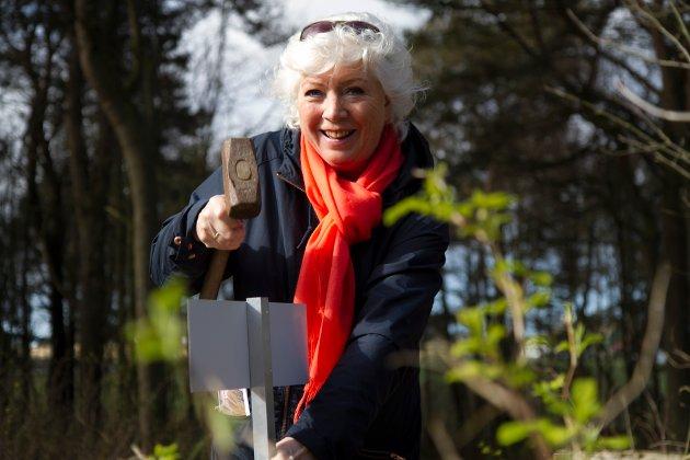Marianne Evensen var som kulturkonsulent opptatt av å få folk til å bruke nærområdet og jobbet med Solaturen.