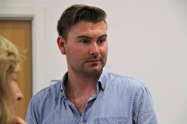 GRÜNDERE: Stortingskandidat for Venstre, Erik Nyman-Apelset, ønsker å stille opp for gründerne gjennom pandemien.