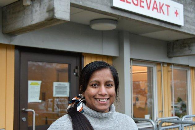 TAKKER: Varasha J. Williams har vært LIS1 lege i Strand (tidligere turnuslege) i et halvt år. I dette innlegget deler hun sine erfaringer fra sitt opphold.