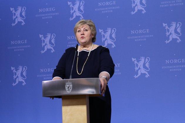 Statsminister Erna Solberg skriver om psykisk helse i anledning Verdensdagen for psykisk helse.