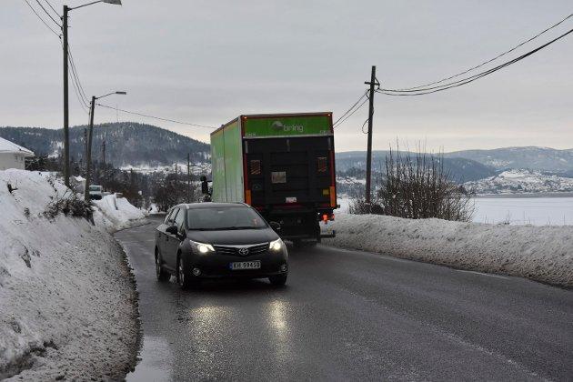 Humpetitten: Tore Nerdrum synes synd på de som kjører Svelvikveien til Drammen hver dag.