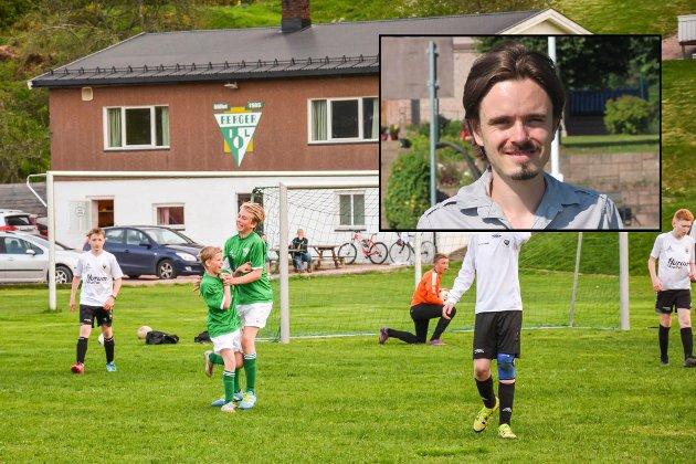 Snart seriestart for breddefotballen. Innfelt: Herman Ekle Lund.