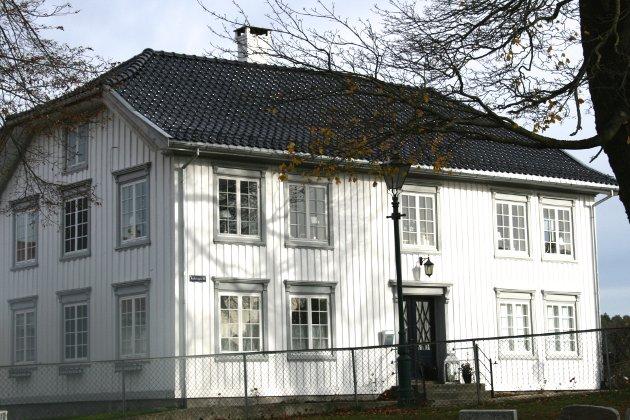 1800-tallet: Rindegården ble bygd på tidlig 1800-tall og befinner seg i verneklasse A.