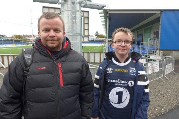 Ole Kristian Fjellingsdal (til venstre) og Leon Fjellingsdal.