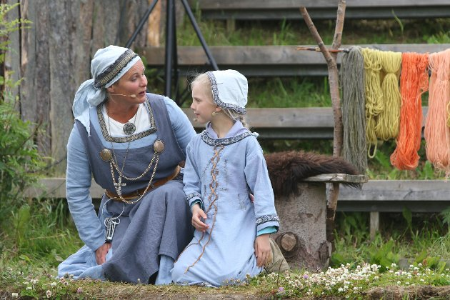 «Fru Guri av Edøy» hadde premiere torsdag.