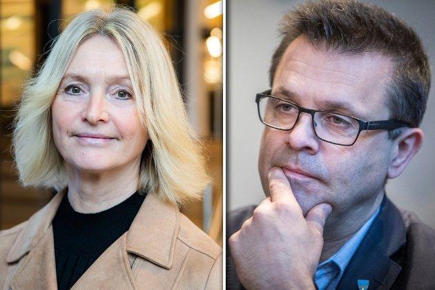 At Frank Sve og Frp driver aktiv desinformasjon for å sette sine politiske motstandere i et dårlig, svekker demokratiet, skriver fylkesordfører Tove-Lise Torve.