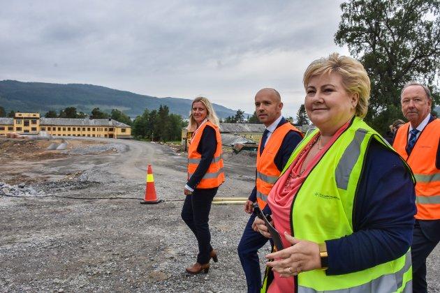 Statsminister Erna Solberg bør sørge for kompensasjon til Kristiansund i form av statlige arbeidsplasser, mener Frode Solheim.