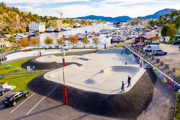Byen som regional motor: Skatepark Kristiansund.