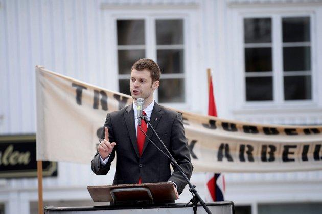 LDEREN: Bjørnar Moxnes, leder i Rødt.