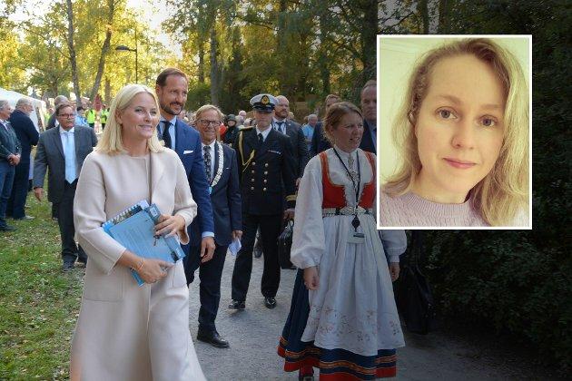 DYRT? Det var mange som jobbet sent og tidlig for å få til et flott besøk av kronprinsparet i Færder kommune. Men går denne pengebruken ut over andre tjenester, spør Marianne Marthinsen-Sall.