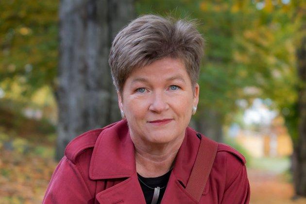 Psykologspesialist Trine Elverum driver privatpraksis i Tønsberg.