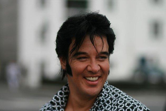 Kjell Elvis, alias Kjell Henning Bjørnestad.
