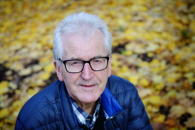 Litteraturkritiker Finn Stenstad.