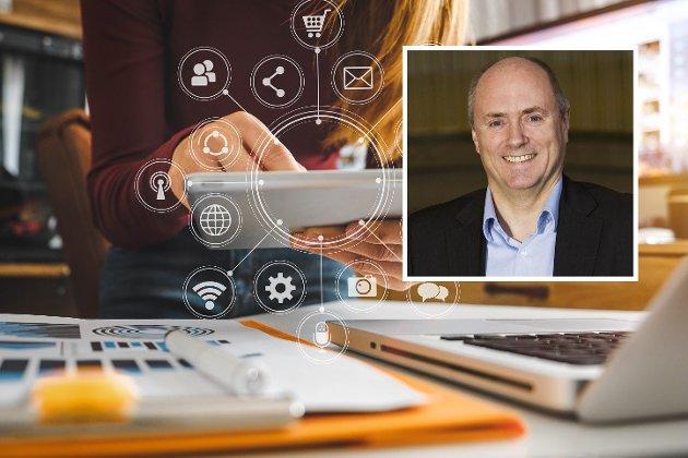 STORE INNSPARINGER: Digitalisering av kommuners tjenester har et totalt gevinstpotensial i Norge på mer enn 100 milliarder kroner de neste ti årene, skriver Stig Arild Nilsen.