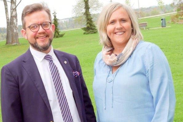 Første- og andrekandidat for Tønsberg KrF