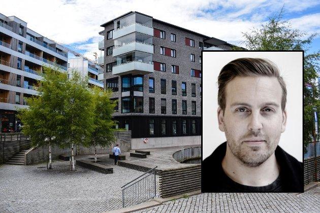 TRENGER LIV: Jeg som slipper å tenke på byplaner, ser for meg en food court (jada, «street food» er både forslitt og en klisje i mange tilfeller) i skyggen av både det nye og det gamle, der også lokale kreative krefter kunne utfolde seg i gamle lokaler gjort nye, og på samme tid skape en flyt mellom det etablerte sentrum, og Kaldnes, skriver Mikkel Vika.