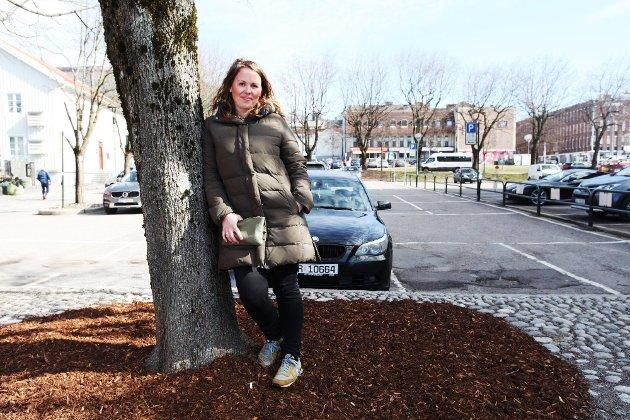 JUBEL: Kommunestyret i Tønsberg vedtok onsdag 14. april å utrede omgjøring av parkeringen ved brygga til torg, etter forslag fra MDG.