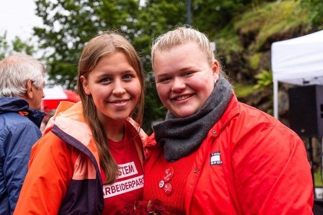 Emma Tokle Broakke og Camilla Marie Brekke