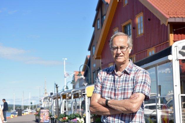 VIL TENKE ANNERLEDES: Tønsberg kan leve av sin historiske bakgrunn, av bygging av vikingskip og alt det andre som utgjør byens helt spesielle miljø, forskjellig fra alle andre byer. Det er det som trekker folk, virksomheter og institusjoner til byen, mener Øyvind Løken.