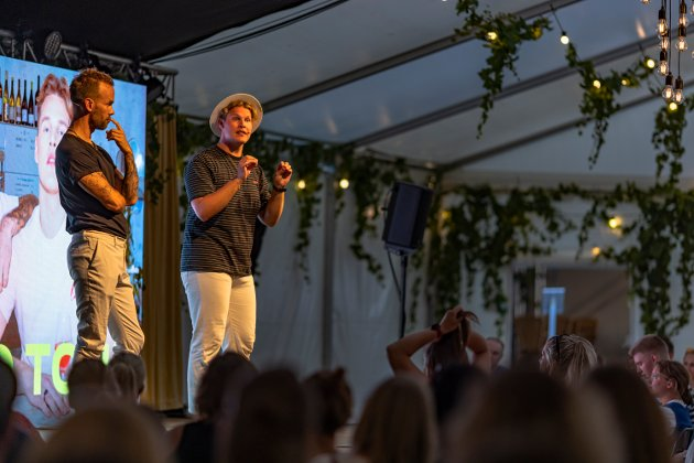 SOMMERSHOW: Morten Hegseth og Vegard Harm premiere Foynhagen