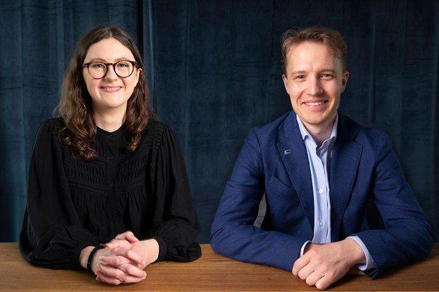 Hedda Wike og Anders-Oliver Juvodden