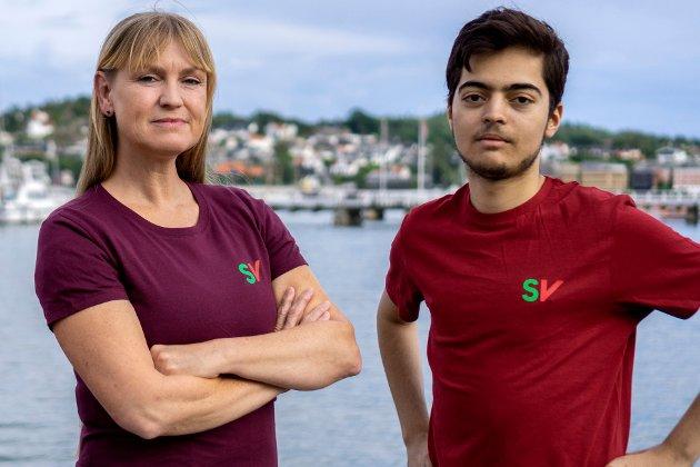 Grete Wold (1.kandidat) og Aram Karim (2.kandidat)