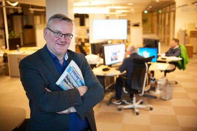 John Arne Moen.  Sjefredaktør i Trønder-Avisa.