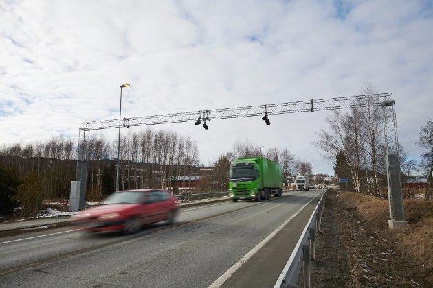 E6 ved Rinnleiret på grensa mellom Levanger og Verdal. Foto: Johan Arnt Nesgård