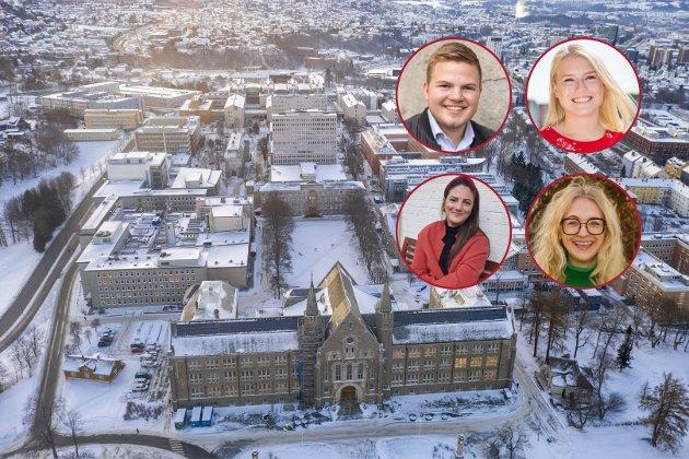 Stenging av campus og lesesaler bør opphøre så fort det blir mulig, skriver politikerne i studentrådet i Trondheim.