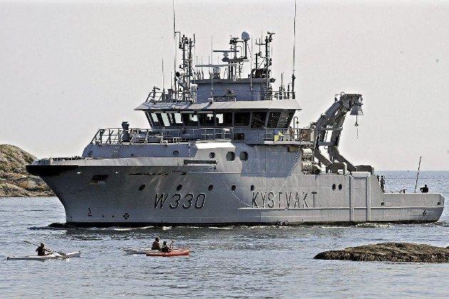 FiskeKontroll med militærbåter: Eg tenkte på bestefar som sat på Grini og gamleonkelen min som gjekk frå konsentrasjonsleir til konsentrasjonsleir i Tyskland.