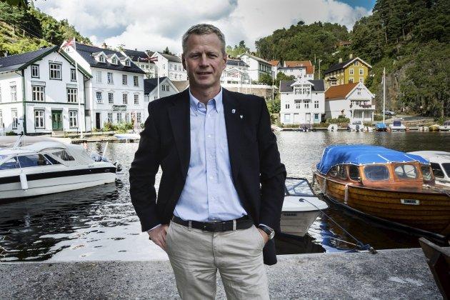Takker: Lørdag opprettholdt styret i Agder Høyre suspensjonen av Knut Aall. I dette innlegget takker han for den overveldende støtten han har fått den siste tiden.arkivfoto
