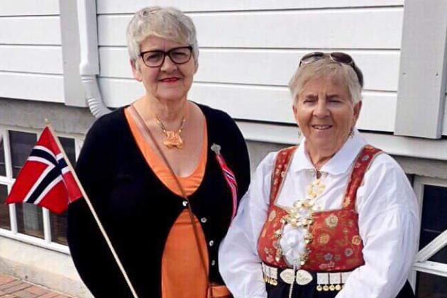 Lillian Sundsdals (til venstre)  minneord om sin kjære søster, Anne Sofie Jørgensen.