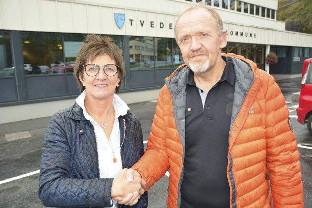 : Etter Høyres mening er Vidar Holmsen Engh en dyktig lokalpolitiker som med integritet forstår og følger demokratiske spilleregler, avtaler og intensjoner. Det er også kommende ordfører Marianne Landaas fra Høyre.