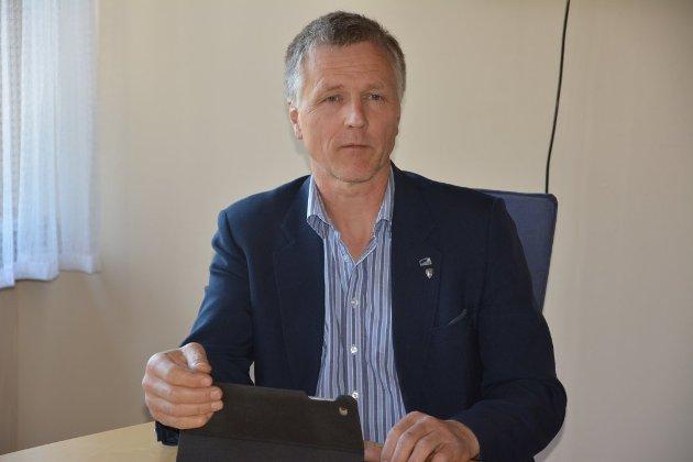 DYPT UENIG: Olav Kristian Huseby, varaordfører i Sør-Aurdal, er dypt uenig med Eivind Brennas utspill om kommunenes handlinger i krisetider.
